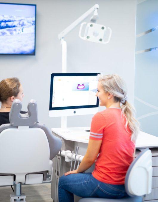 Hentscher Johnson Orthodontics Columbia Illinois Staff Candids 42 530x680 - First Visit - HJO - Orthodontics in Illinois